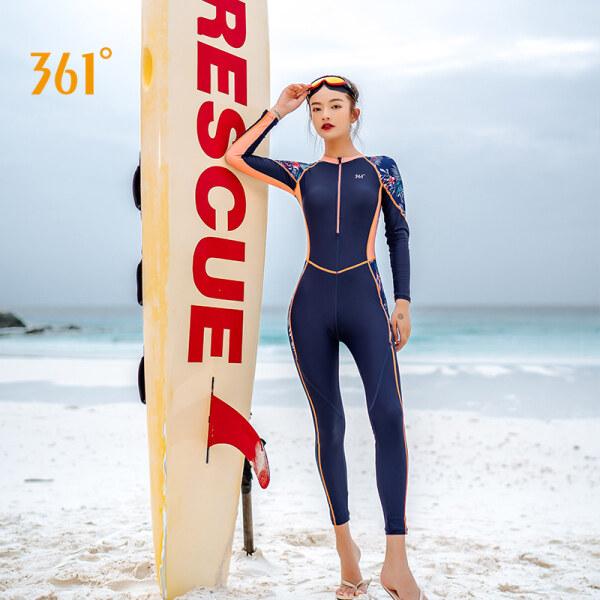 Nơi bán Bộ Đồ Lặn 361d Quần Nữ Dài Tay Một Mảnh Bộ Đồ Lặn Lướt Sóng Nhanh Khô Chống Nắng Đồ Bơi Mùa Xuân Nóng Bỏng