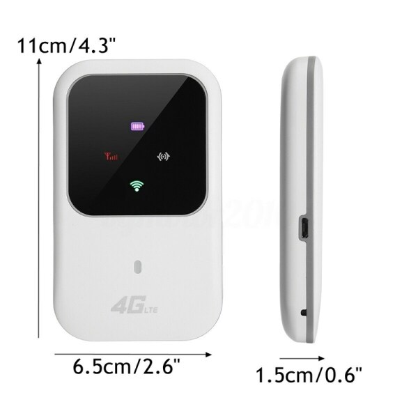 Bảng giá Portable 4G LTE WIFI Router 150Mbps Mobile Broadband Hotspot SIM Unlocked Wifi Modem 2.4G Wireless Router Phong Vũ