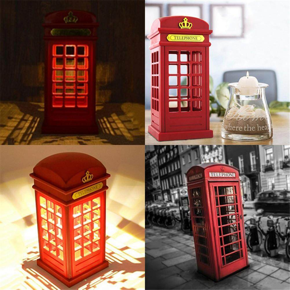 GUO Telephone Booth LED Touch to Adjust the Brightness LED Night Light