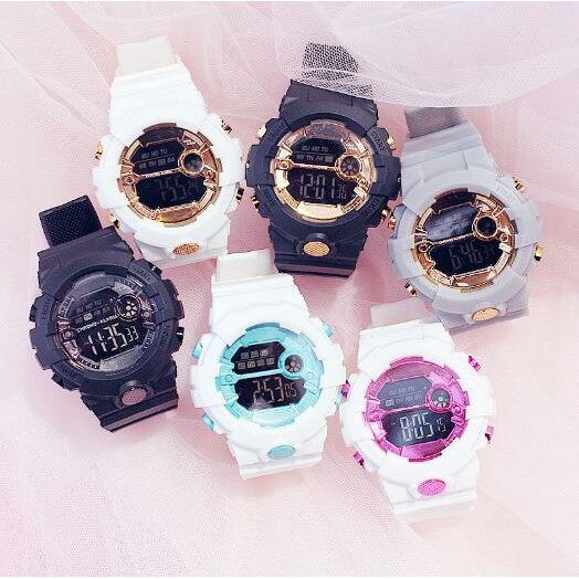 [Ready Stock] E-Beli Original HONHX BABY Digital Led Sports Men Women Watch Jam Tangan Lelaki Wanita Malaysia