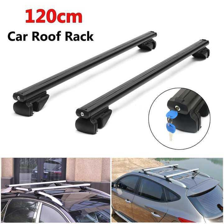 Hyundai i40 Universal Aluminium Anti-Theft Roof Bars 120cm