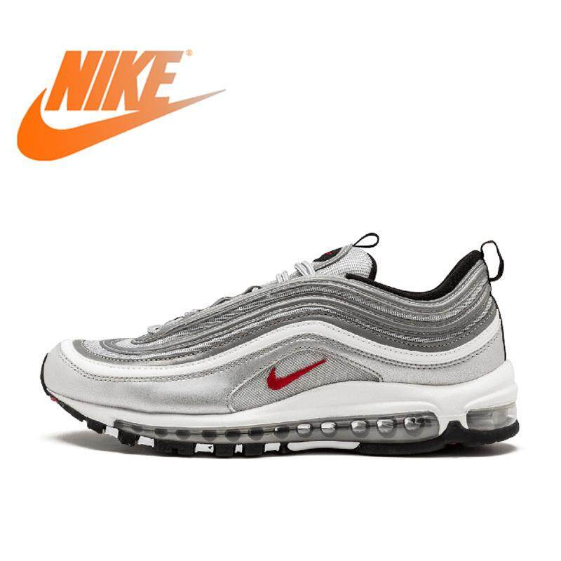 e167c90f4 Nike Air Max 97 OG QS Women s Breatheable Running Shoes Outdoor Sports  Low-top Sneakers