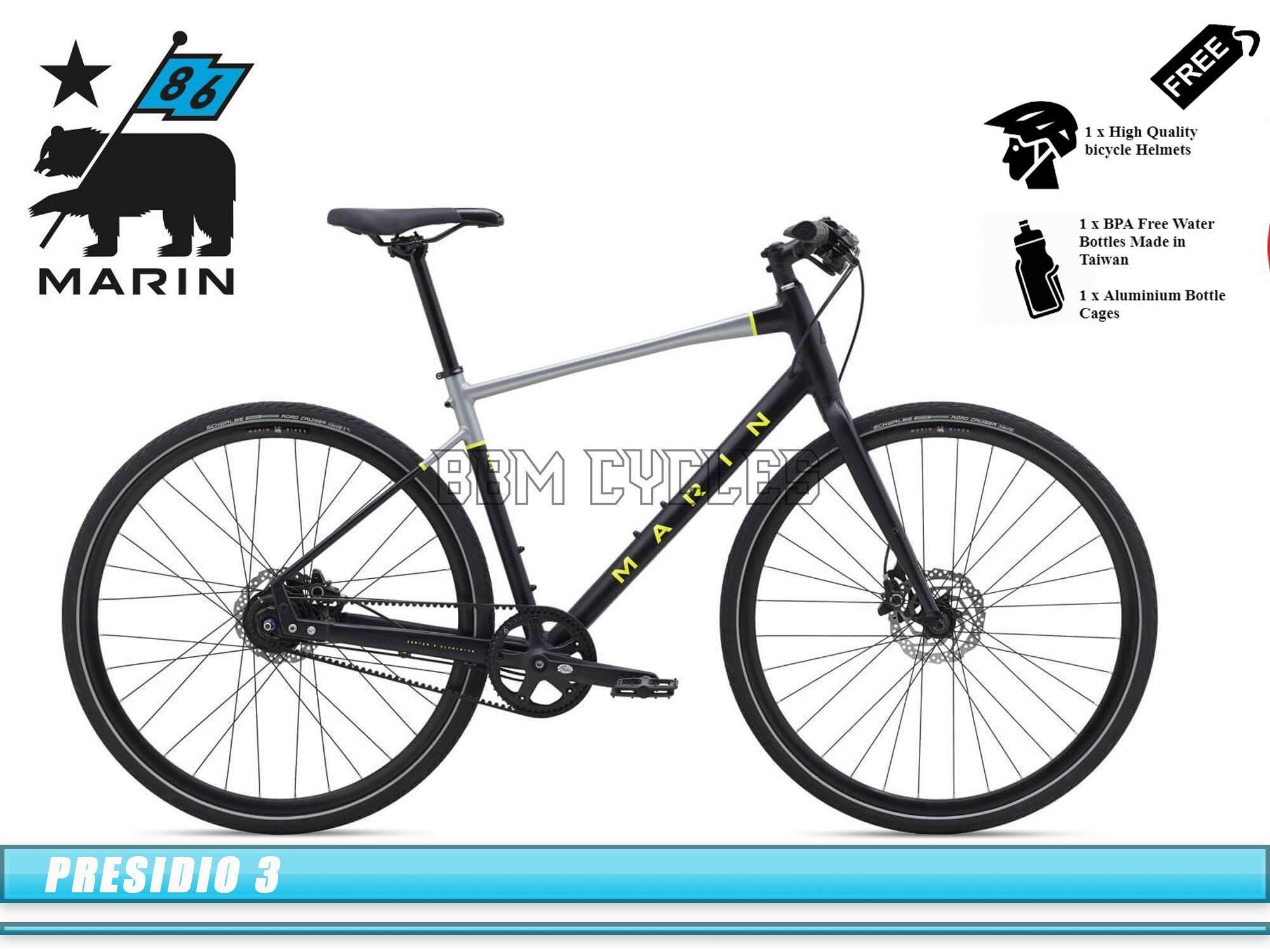 d1a11690cdb 2019 Marin Presidio 3 - Carbon Belt Drive City Commuter Bike bicycle urban bikes  Marin Bikes