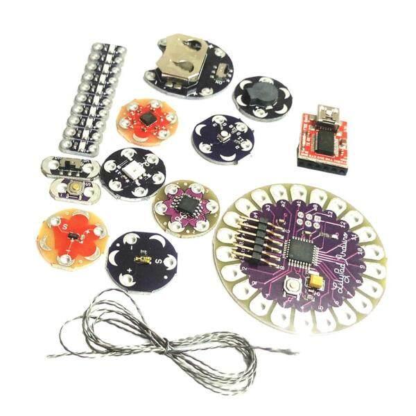 Dolity Lilypad Arduino Kit Wearable Sewable Electronics Leds Suite ATmega328P