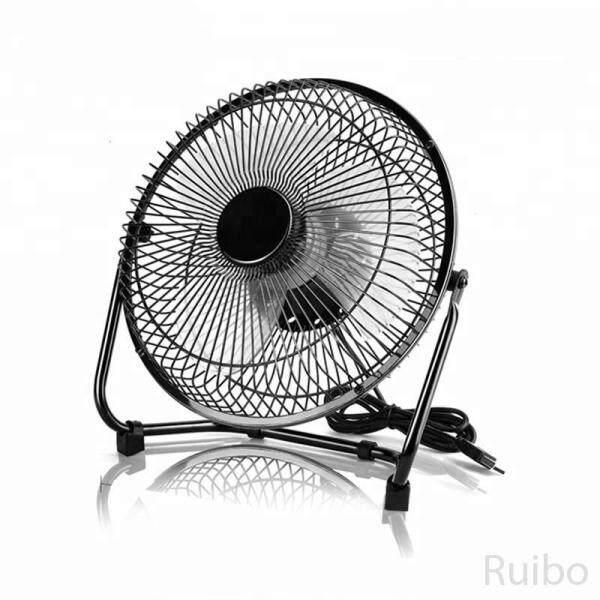 Ruibo Lileng-819 Mini 360° Rotation Quiet USB Desk Fan Home Office Table Cooler