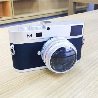 Máy Ảnh DSLR Giả Không Hoạt Động, Đạo Cụ Studio Chụp Ảnh Mô Hình Cho Leica M, Ống Kính Ngắn thumbnail