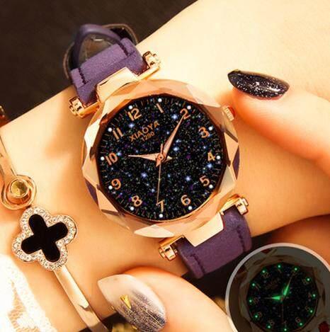 ZLOYI Luxury Watches Women Star Sky Dial Clock Analog Quartz Wrist Watches Jam Tangan Wanita Malaysia