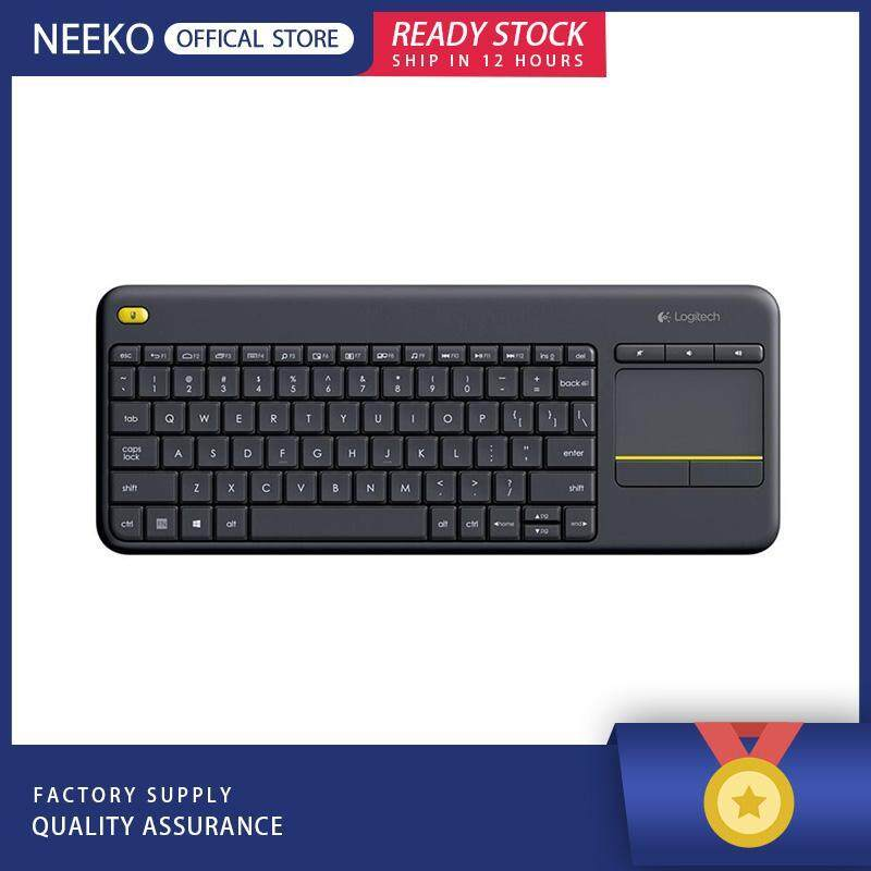 NEEKO『READY STOCK』Logitech K400 Plus Wireless Touch Keyboard Touchpad for Android Gaming Singapore