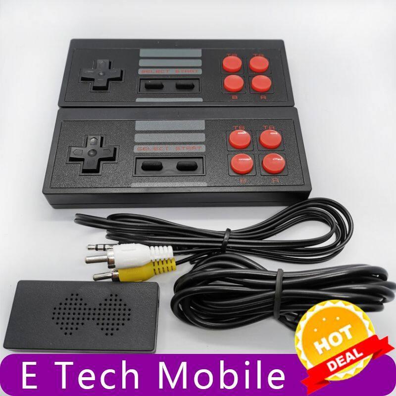 E Tech Mobile [Mới] Máy Chơi Game TV Video Cầm Tay Không Dây USB 4K Xây Dựng Trong Trò Chơi Cổ Điển 620/81 Bảng Điều Khiển Video Mini 8 Bit Hỗ Trợ Đầu Ra AV/HDMI