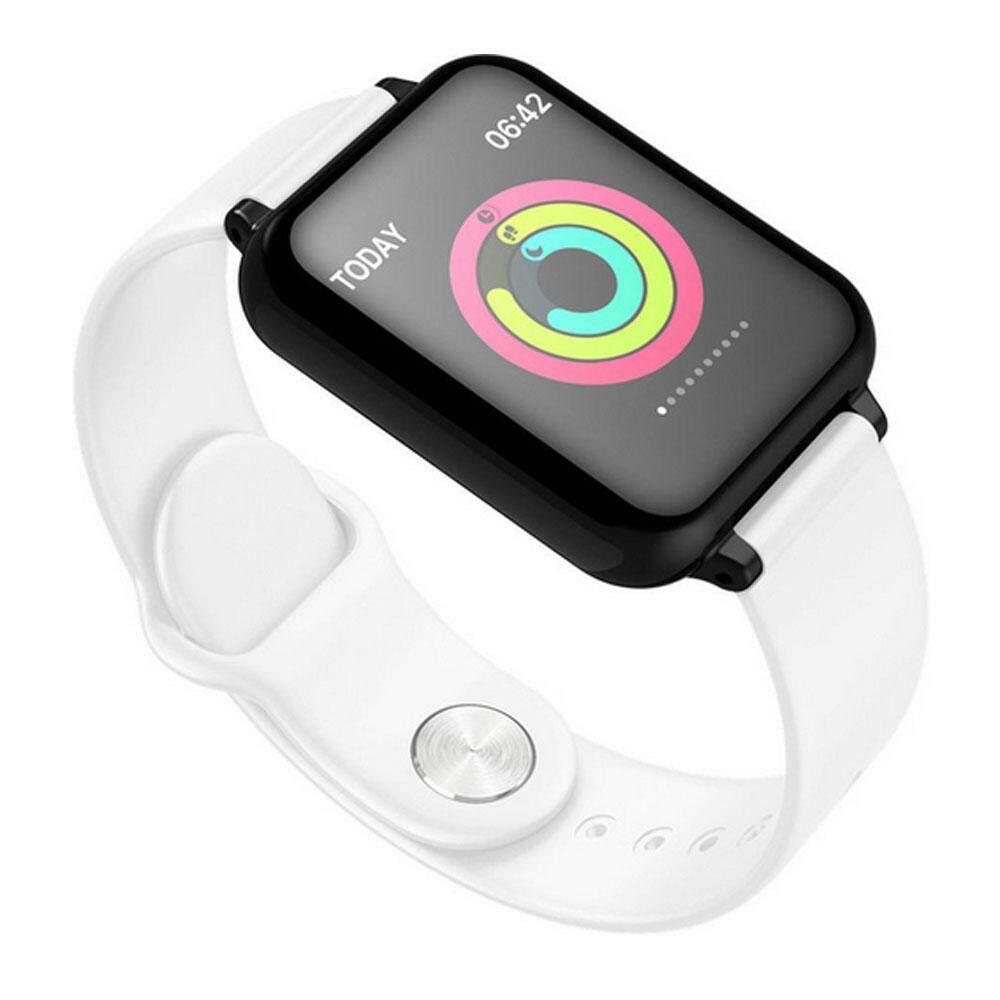 Rainrainbow B57C Tahan Air Smartwatch Tekanan Darah Lampu Tidur Pemantau Bluetooth Smart Band Mendukung 13 Bahasa