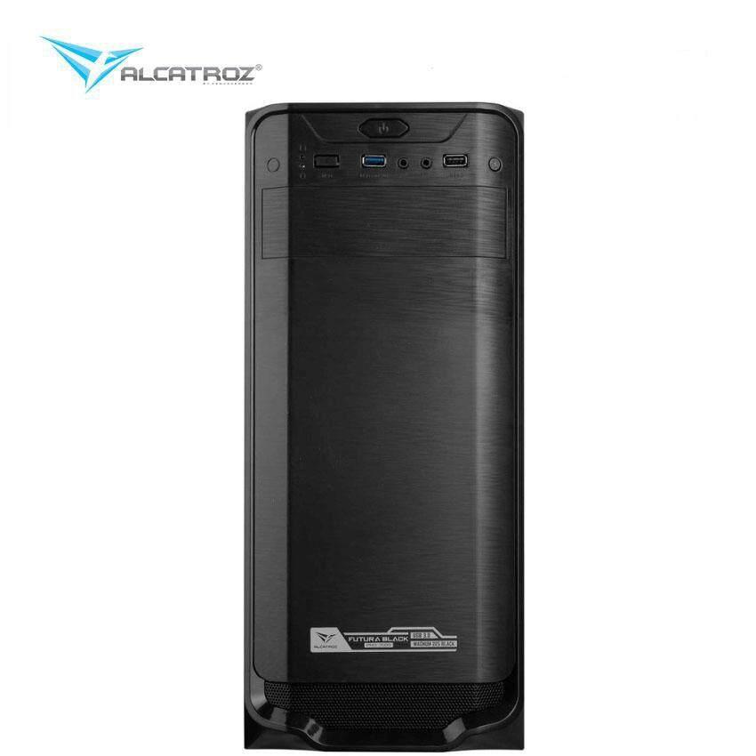 Alcatroz Futura Black 3000 ATX Casing Malaysia