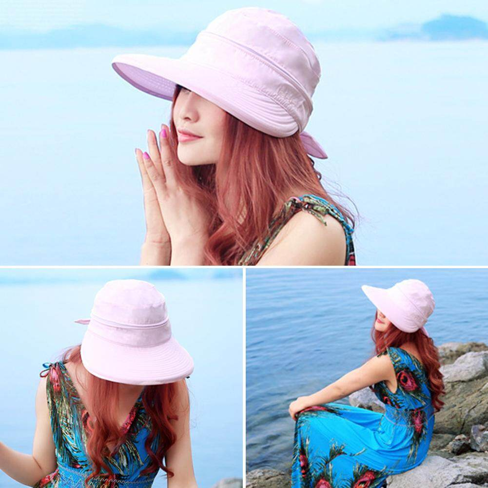 Hats & Caps Travel Fashion Cute Rabbit Ear Cartoon Straw Empty Top Kids Hat Beach Cap Summer Sunshade Breathable Gift Foldable Wide Brim