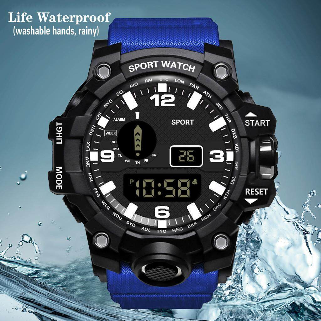 You raise me up HONHX Luxury Mens Digital LED Watch Date Sport Men Outdoor Electronic Stopwatch timing Watch WKJV6625846AWVA Malaysia