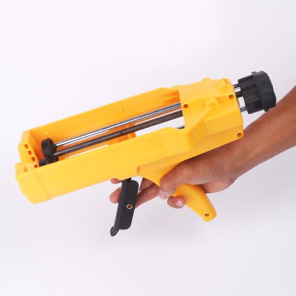 CLOCKIN 【Free Accessories】 400Ml Double-Tube Caulking Hose Dual Component Adhesive Glue Applicator Porcelain Glue Filling Tool