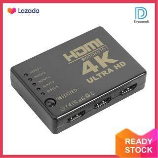 Hộp Chia Công Tắc HDMI Ultra HD 5X1 Đa Chức Năng Bộ Chuyển Đổi Video 5 Đầu Vào 1 Đầu Ra Selector thumbnail