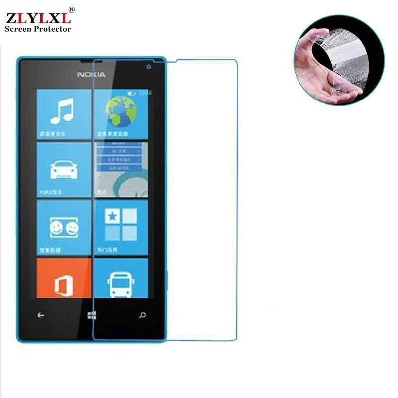 2 Pcs for Nokia Lumia 520/525 tempered Glass glossy guard screen protector