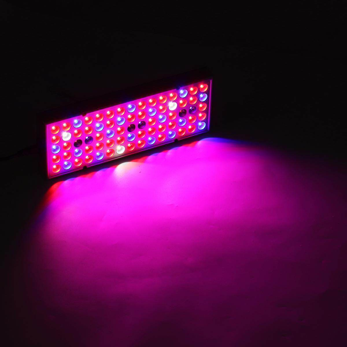 25W 75LED Plant Grow Light Lamp Full Spectrum For Flower Seeds Greenhouse Indoor