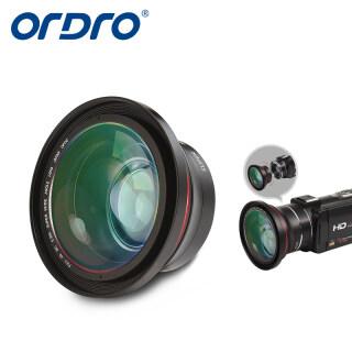 ORDRO FS-1 Ống Kính Siêu Rộng Máy Ảnh Đường Kính 72Mm 0,39x Ống Kính Siêu Nhỏ Khuôn Riêng, Ống Kính Góc Rộng Dành Cho Máy Quay Phim Chuyên Nghiệp Máy Quay Video HD Máy Ảnh Kỹ Thuật Số Phụ Kiện thumbnail