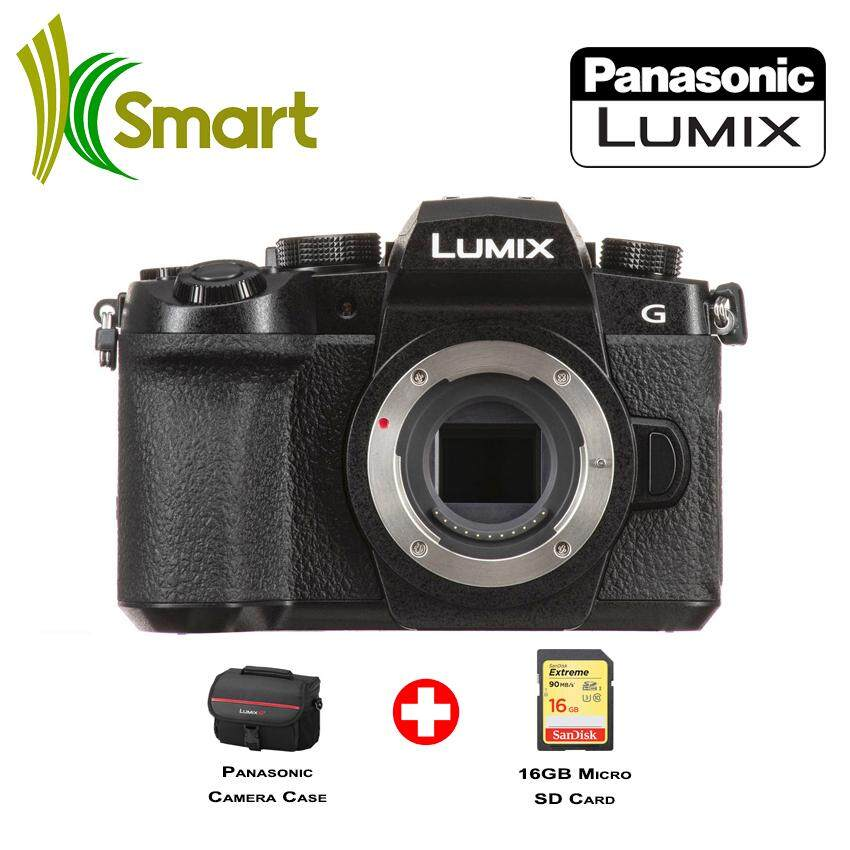 Panasonic Lumix DC-G95 DCG95 G95 Mirrorless Digital Camera Body Only + 16GB Card + Case (1+1 Year Official Panasonic Malaysia Warranty)