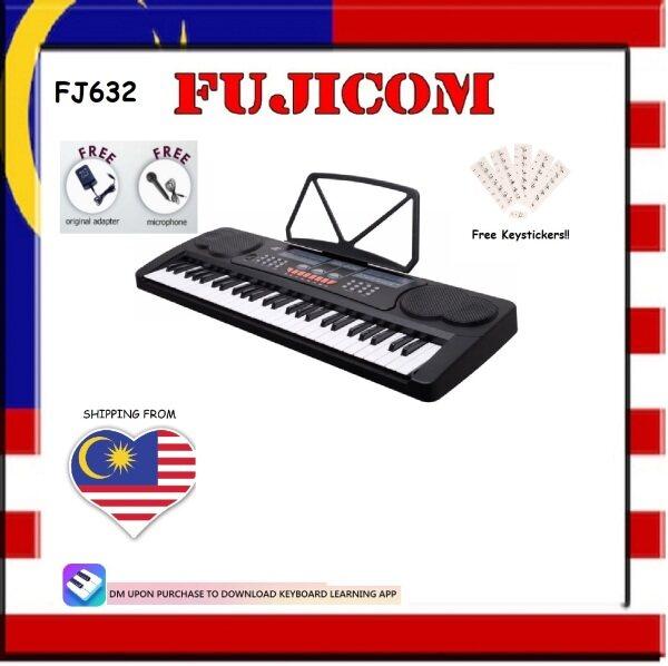 Fujicom 54 Keys Electronic Piano Keyboard with AC Adaptor Malaysia