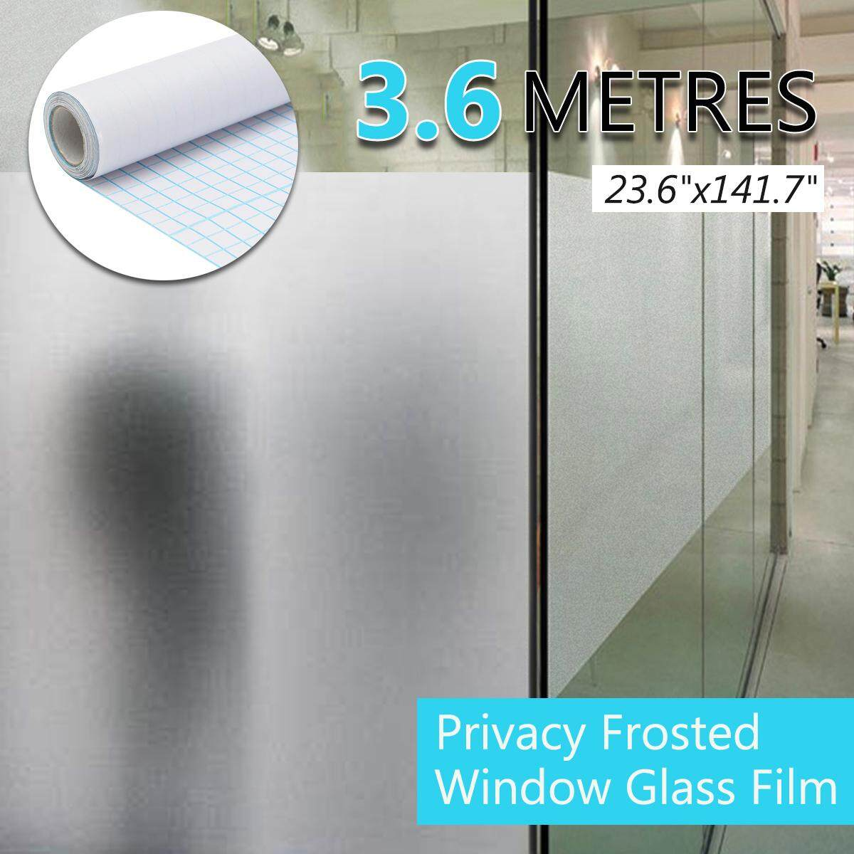 Free Shipping Super Deal Limited Offer 24 X12ft Frosted Home Privacy Bedroom Bathroom Diy Window Tint Glass Film Sheet