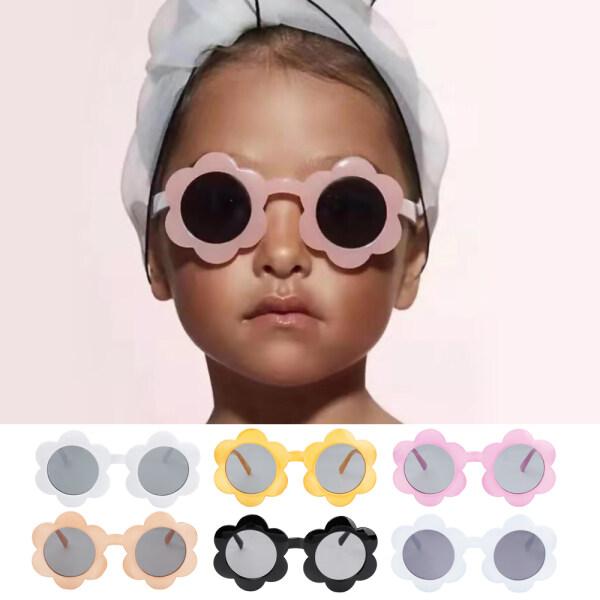 Giá bán MARINERSTORE3RE9 Fashion Cool Outdoor Product Trend Streetwear Children Shades Eyewear Flower Shape Kids Sunglasses Sun Glasses