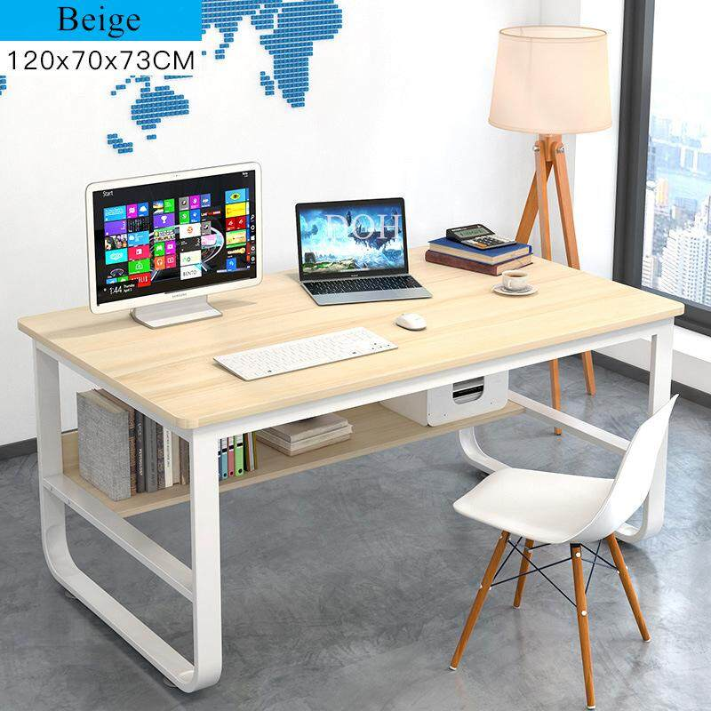 Modern Wood Table Home Office Desks Workstation Living Room Child Student Study Desk Bedroom Hotel Computer PC