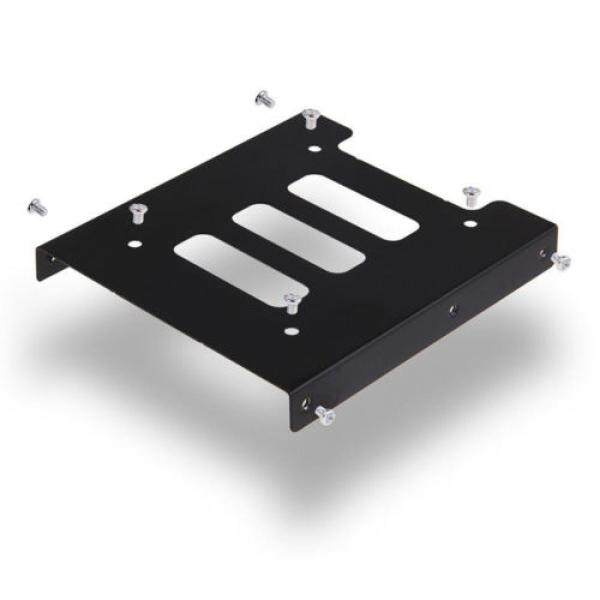 2.5  to 3.5  Metal SSD HDD Adapter Mounting Bracket Hard Drive Bay Holder Caddy