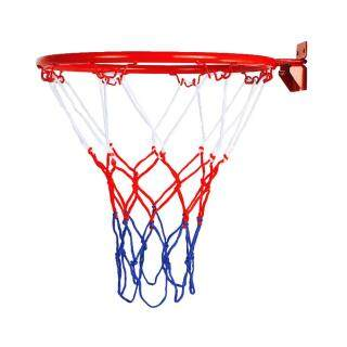 Hanging Basketball Wall Mounted Goal Hoop Rim with Net Screw for Outdoors Indoor thumbnail