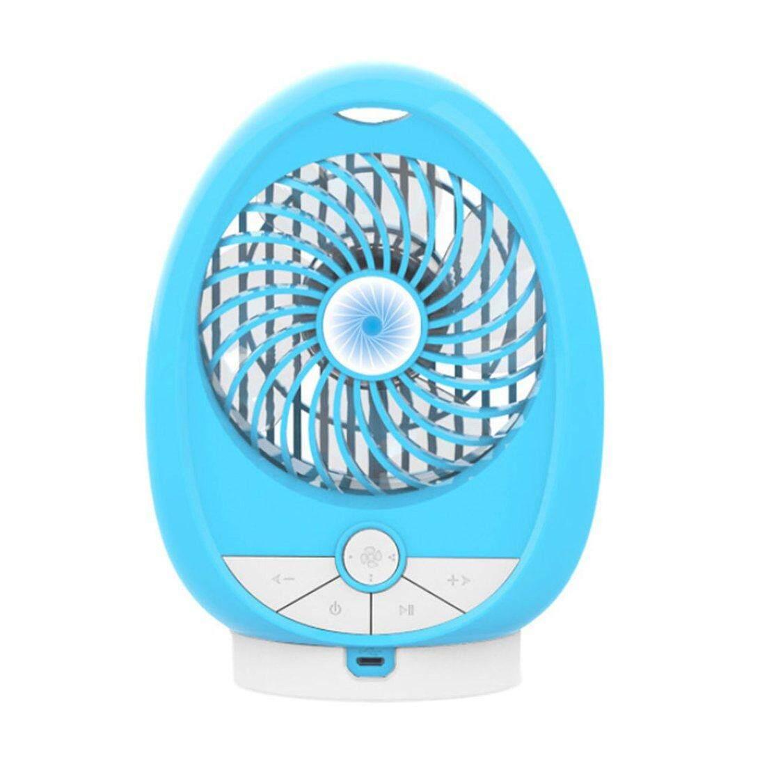 Best Sale Music Portable Size Wireless Speaker Fan USB Air Conditioner Cooling Fan Summer