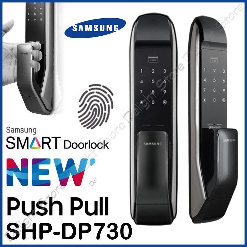 Samsung SHP-DP730 Digital Door Lock Push Pull Smart Pad Fire Proof