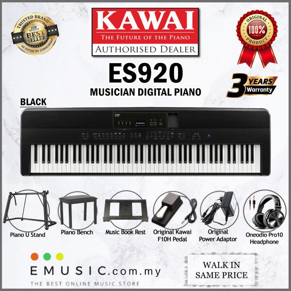 Kawai ES920 88-key Digital Piano Home Portable Electric Piano Keyboard (ES-920 / ES 920) Malaysia