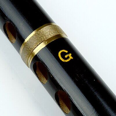 D/E/F/G Phím Sáo Tre Đen Với Hai Dây Vàng Nhạc Cụ Trung Quốc Handmade Woodwind Cụ Sáo