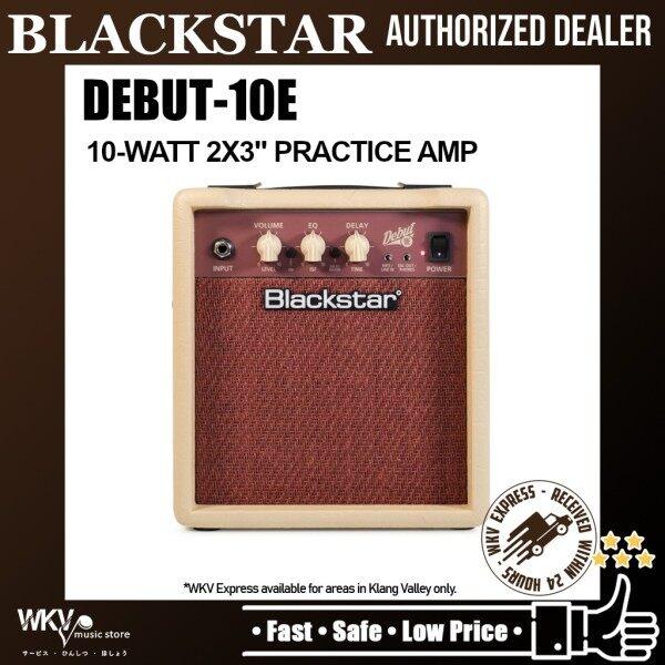 Blackstar Debut 10E 10-watt 2x3 Practice Amp (Debut 10E 10W) Malaysia