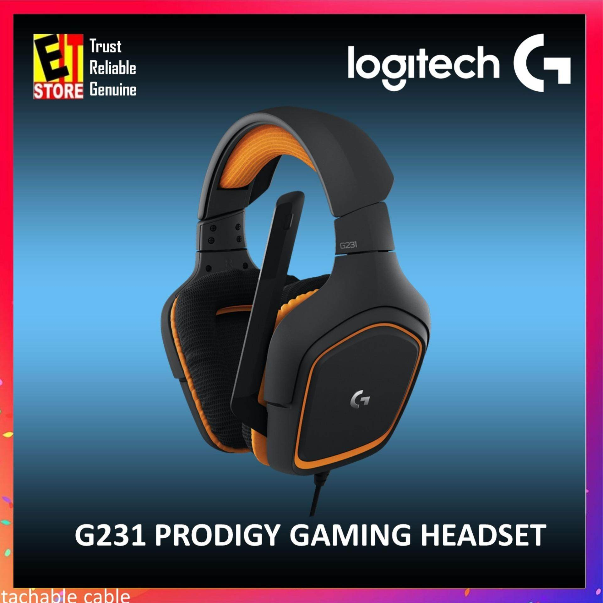 Logitech G231 Stereo Gaming Headset By Eit Store.
