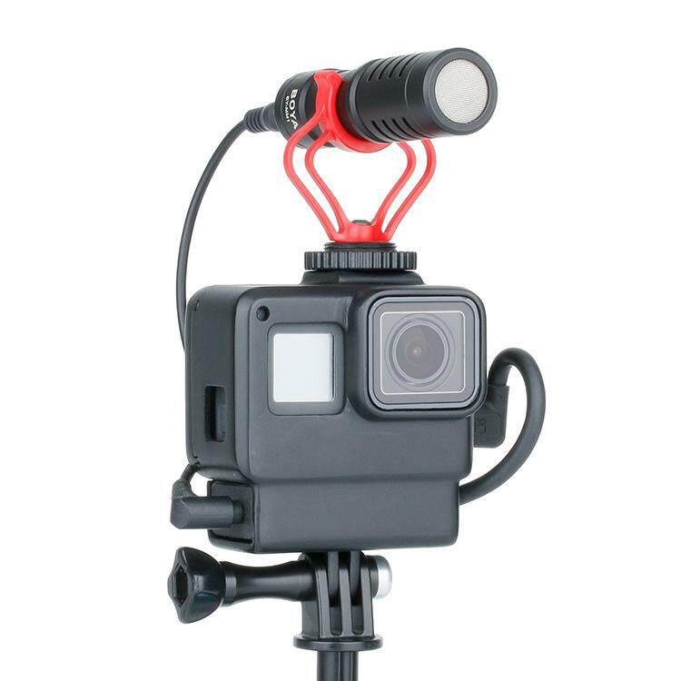 Ulanzi V2 กล้องป้องกันกรณีไมโครโฟนสำหรับ For Hero7/6/5 Vlogging Mounting By Kexiang Estore.