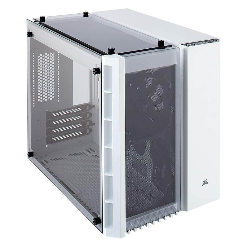 [CAS]Corsair 280X Crystal Small Tower mATX Case White Malaysia