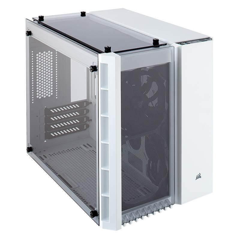 [CAS]Corsair 280X Crystal Small Tower mATX Case White Malaysia