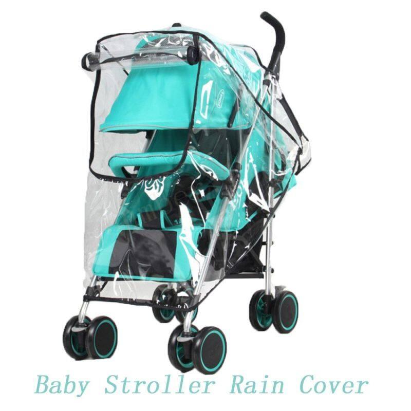 1* Hot Fashion Waterproof Umbrella Stroller Rain Cover Pram Raincoat Pushchair Wind Shield Baby Accessories Singapore