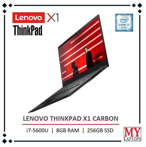 LENOVO THINKPAD X1 CARBON [CORE I7-5600U / 8GB DDR3 / 256GB SSD] WQHD IPS (2560 x 1440) / ULTRABOOK Malaysia