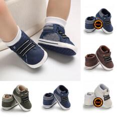 Đế Mềm Cho Bé Giày Đi Trongcũi Trẻ Sơ Sinh Cậu Bé Cô Gái Giày Sneaker Cho Trẻ Mới Biết Đi Chống Trượt 0-12 Tháng