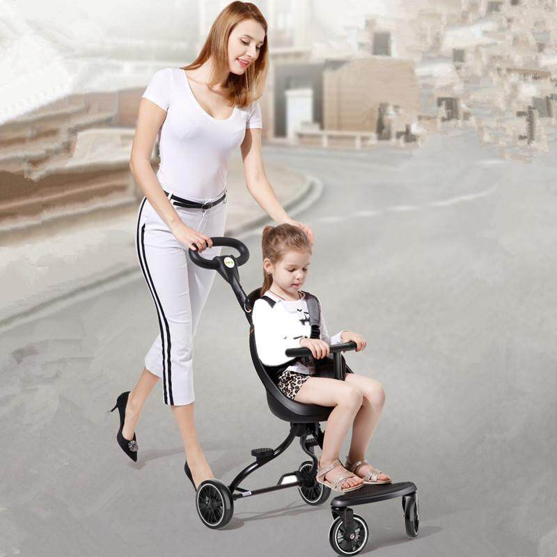 Childrens Two-way Baby Stroller Summer Ultra light Foldable High Landscape Baby Trolley Singapore