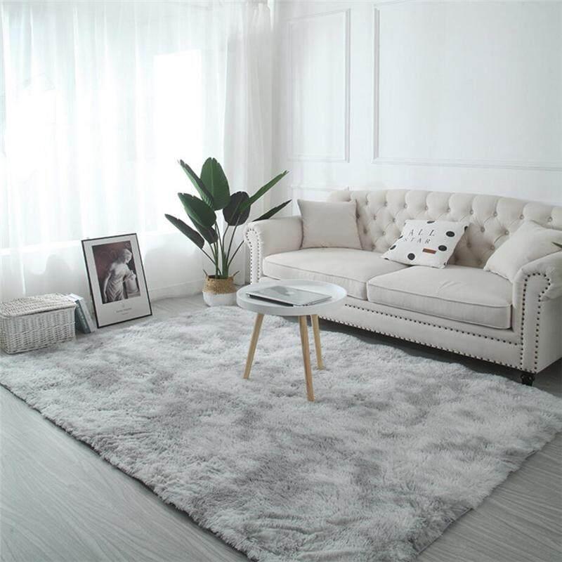 TBR 200x250cm Shaggy Non-slip Floor Carpets For Living Room Bedroom Area Rug Irregular Coloring Floor Mat (Thick 4cm)
