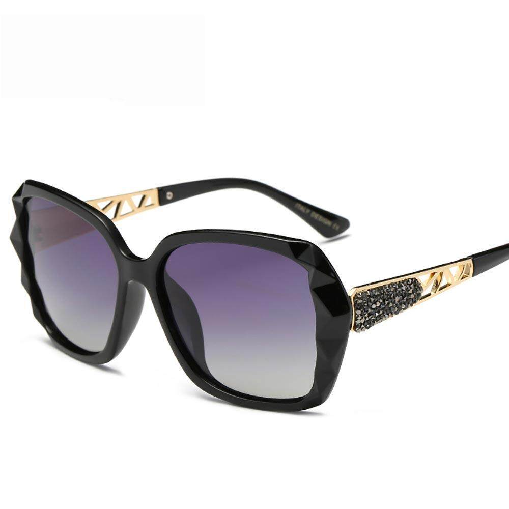 Polarized Eye แว่นตาป้องกันรังสี Uv แว่นตากันแดดทรงเหลี่ยม Ultraviolet - Proof Uv400 277 สำหรับสตรี By Uni-Shop.