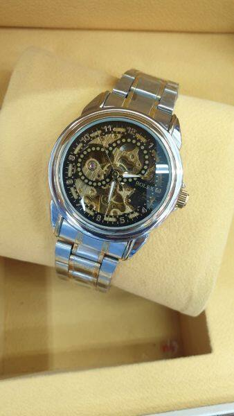 NEW ROLEX_NAMPAK FULLY AUTOMATIC WATCH FOR MEN HIGH GOOD QUALITY WITH BOX Malaysia