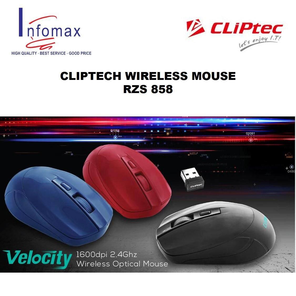Cliptec 2.4GHZ Wireless Mouse RZSS857/RZS858 Malaysia