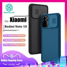 Nillkin Thời Trang PC Ốp Lưng Cho Redmi Note 10 4G / Redmi Note 10S / Redmi Note 10 5G / Redmi Note 10 Pro / Redmi Note 10 Pro Max Ốp Lưng Bảo Vệ Máy Ảnh Doanh Nghiệp Bảo Mật Chống Sốc Ốp Lưn