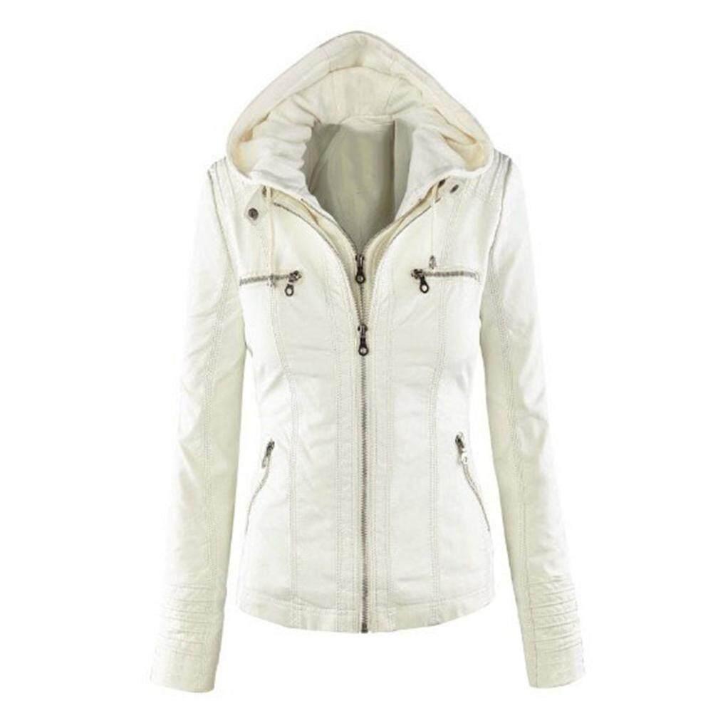 cb1f1ba1c Buy Women Leather Jackets | Coats | Lazada.sg