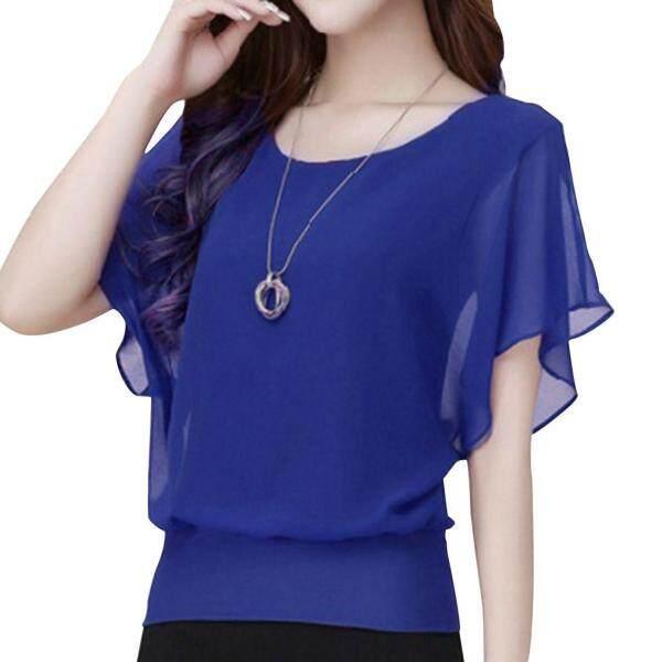 Elenxs áo thun nữ mùa hè áo phông tay ngắn áo thun dáng rộng