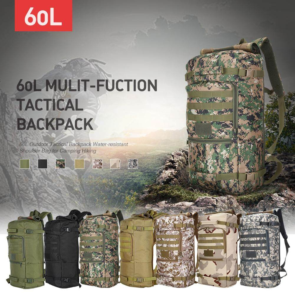 60l Military Tactical Backpack Shoulder Bag Sport Outdoor For Hunting Camping By Enrich Your Life.